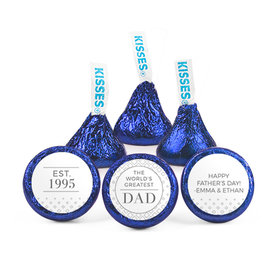 Personalized Father's Day Classic Dad Hershey's Kisses (50 pack)