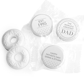 Personalized Father's Day Classic Dad Life Savers Mints
