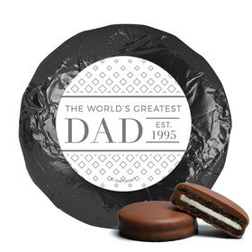 Personalized Classic Dad Father's Day Milk Chocolate Covered Oreos