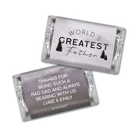Personalized Father's Day Wisdom & Wilderness Hershey's Miniatures Wrappers