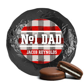 Personalized Football Dad Father's Day Milk Chocolate Covered Oreos