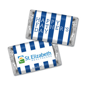 Personalized Father's Day Pillar of Strength Add Your Logo Hershey's Miniatures