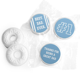 Personalized Father's Day Life Savers Mints #1 Dad