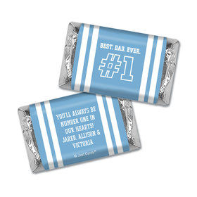 Personalized Father's Day #1 Dad Hershey's Miniatures