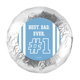 "Personalized Father's Day 1.25"" Sticker #1 Dad (48 Stickers)"