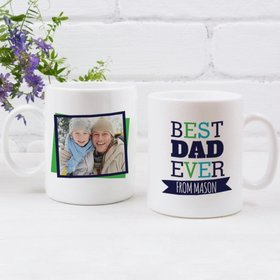Personalized Coffee Mug Father's Day (11oz) - Best Dad Ever