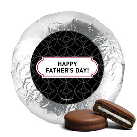 Father's Day Trellis Pattern Milk Chocolate Covered Oreos