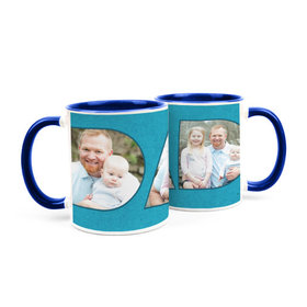 Personalized Father's Day Photos 11oz Mug
