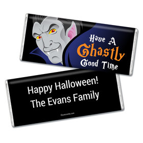Halloween Personalized Chocolate Bar