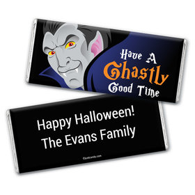 Halloween Personalized Chocolate Bar Wrappers