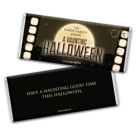 Halloween Personalized Chocolate Bar Spook Fest! Movie Madness