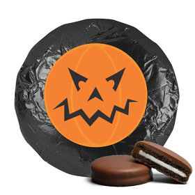 Halloween Personalized Chocolate Covered Oreo Cookies - Jack-O-Lantern