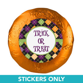 Halloween Personalized Stickers- Trick or Treat (48 Stickers)