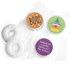 Personalized Halloween Candy Corn Life Savers Mints