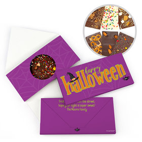 Personalized Halloween Spirit Bar Gourmet Infused Belgian Chocolate Bars (3.5oz)