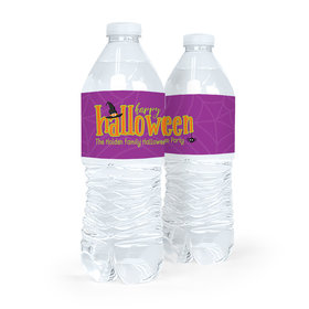 Personalized Halloween Spirit Water Bottle Labels (5 Labels)