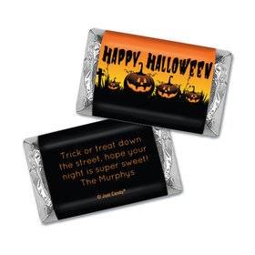 Personalized Halloween Jack'O'Lanterns Hershey's Miniatures