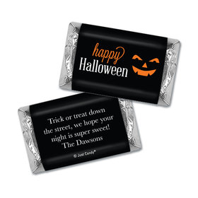 Personalized Classic Halloween Hershey's Miniatures Wrappers