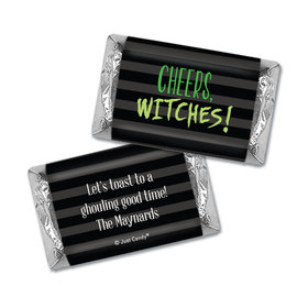 Personalized Cheers, Witches! Halloween Hershey's Miniatures