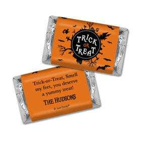 Personalized Halloween Sweet Treats Hershey's Miniatures Wrappers