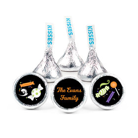 Personalized Halloween Spooky Treats Hershey's Kisses (50 pack)