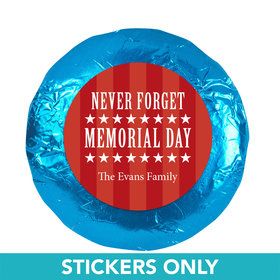 "Never Forget 1.25"" Stickers (48 Stickers)"