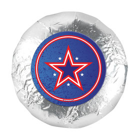 "Patriotic Star 1.25"" Stickers (48 Stickers)"