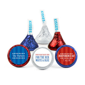 Personalized Patriotic Freedom Hershey's Kisses (50 Pack)
