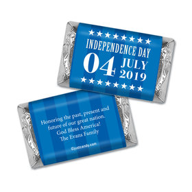 Personalized Patriotic Freedom Mini Wrappers