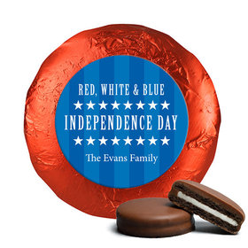 Personalized Patriotic Freedom Chocolate Covered Oreos