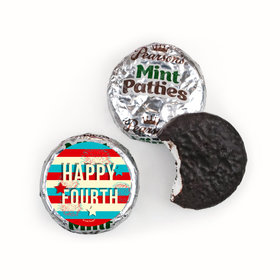 4th of July Star Spangled Stripes Pearson's Mint Patties