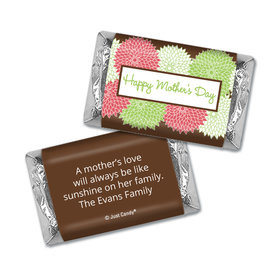 Mother's Day Personalized Hershey's Miniatures Wrappers Mums for Mom