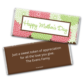 Mother's Day Personalized Chocolate Bar Mums for Mom