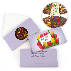 Personalized Mother's Day Bouquet Gourmet Infused Belgian Chocolate Bars (3.5oz)