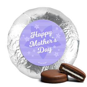 Mother's Day Purple Flowers Milk Chocolate Covered Oreos