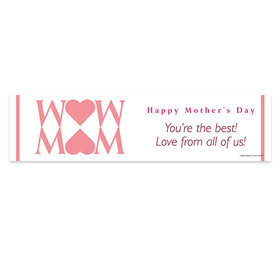 Personalized Mother's Day Heart 5 Ft. Banner