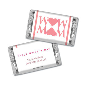 Personalized Mother's Day Hershey's Miniatures Wrappers Heart