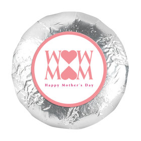 Mother's Day Mom Heart 1.25in Stickers (48 Stickers)