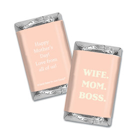 Personalized Mother's Day Hershey's Miniatures Wrappers Wife Mom Boss