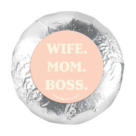 Mother's Day Wife. Mom. Boss 1.25in Stickers (48 Stickers)