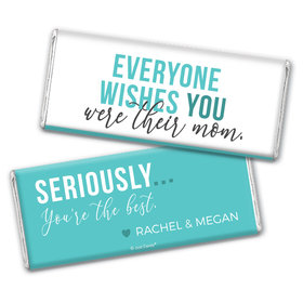 Personalized Mother's Day The Cool Mom Chocolate Bar & Wrapper