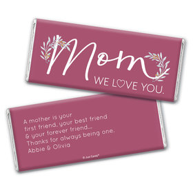 Personalized Mother's Day Forever Friend Chocolate Bar & Wrapper