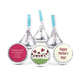 Personalized Mother's Day Blooming Garden Hershey's Kisses (50 pack)