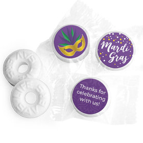 Personalized Mardi Gras Big Easy Life Savers Mints