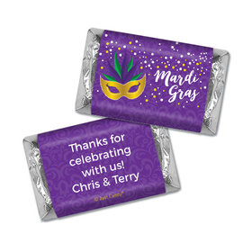 Personalized Mardi Gras Big Easy Hershey's Miniatures