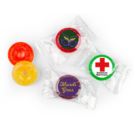 Personalized Mardi Gras Add Your Logo Life Savers 5 Flavor Hard Candy