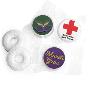Personalized Mardi Gras Add Your Logo Life Savers Mints