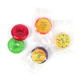 Personalized Mardi Gras It's a Mardi Gras Thing Life Savers 5 Flavor Hard Candy