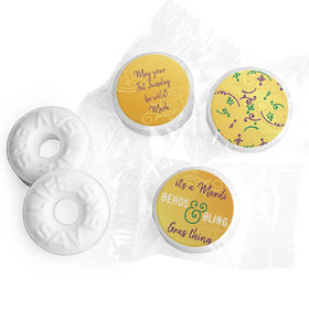 Personalized Mardi Gras It's a Mardi Gras Thing Life Savers Mints