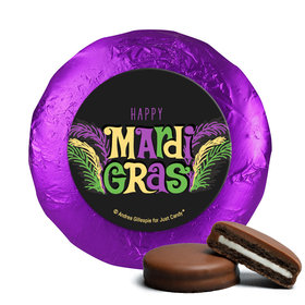 Mardi Gras Party Gras Chocolate Covered Oreos